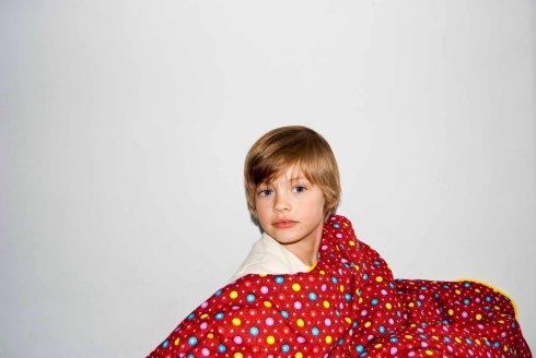Tuur met deken