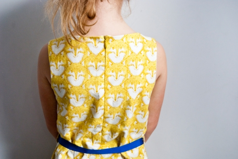 Foxes dress_back3